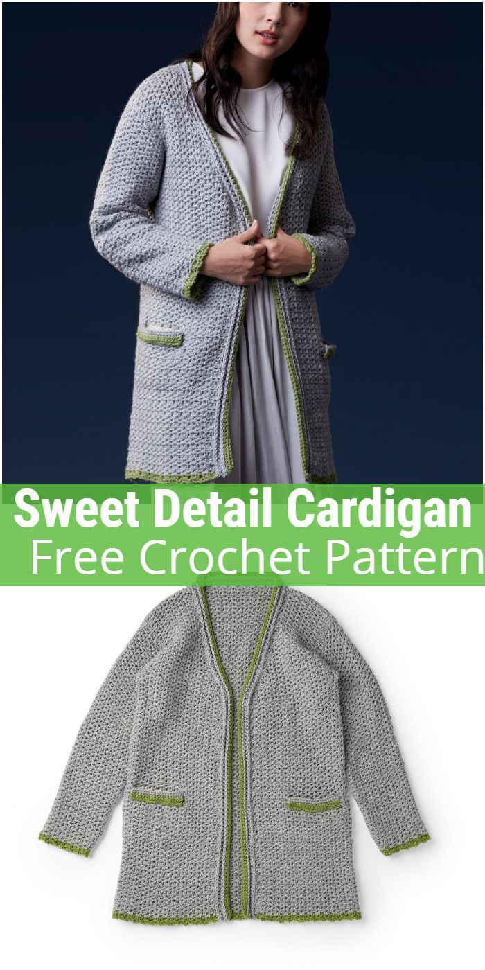 Sweet Detail Crochet Cardigan