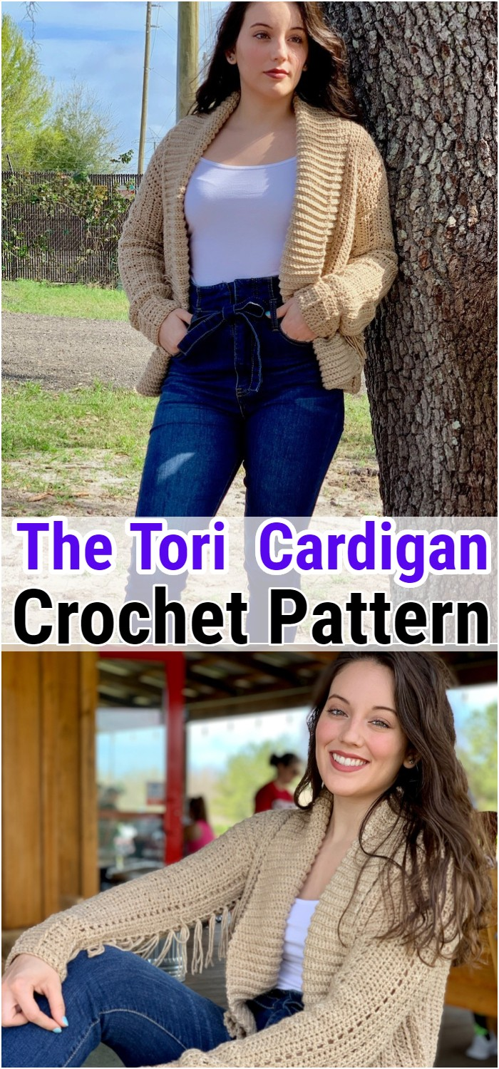 The Tori Crocheted Cardigan