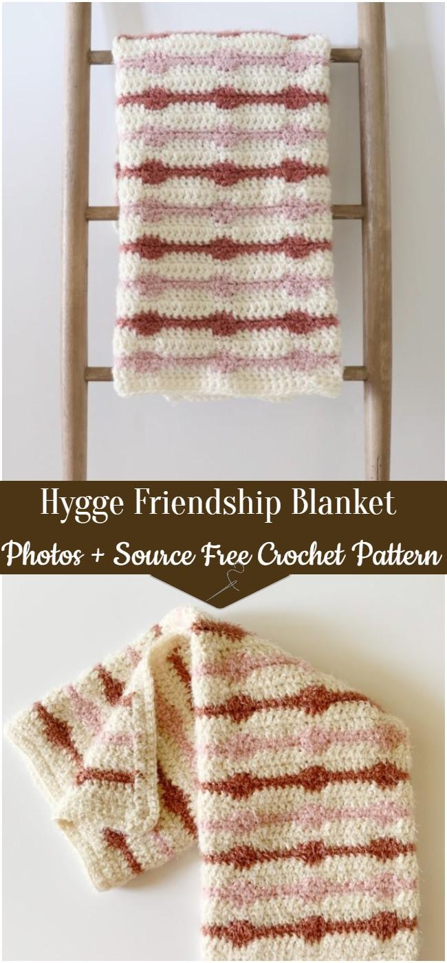 Hygge Friendship Crochet Blanket Pattern