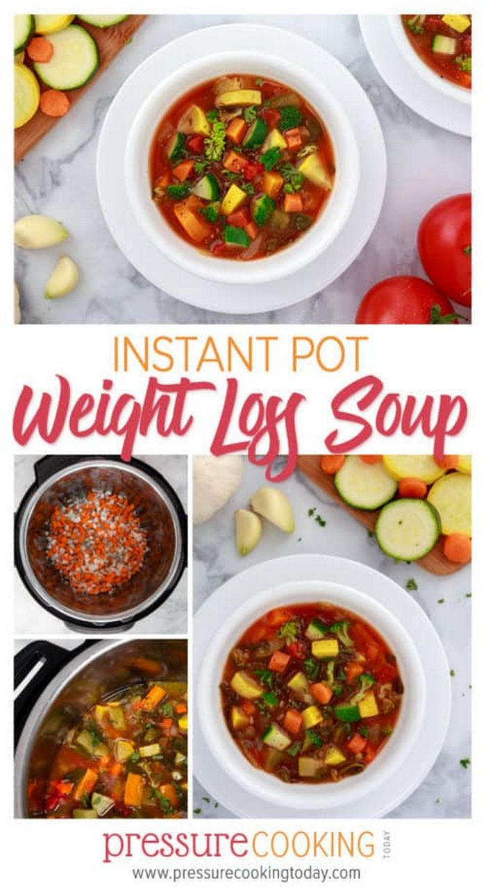 Instant Pot / Pressure Cooker Weight Loss Vegetable Soup