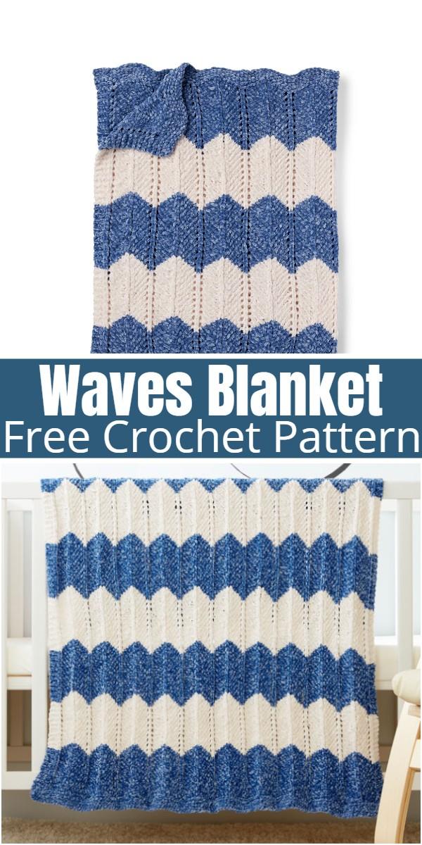 Waves Blanket