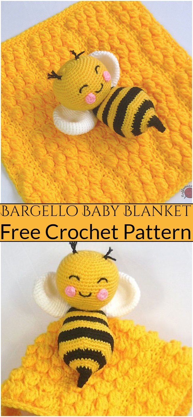 Crochet Bargello Baby Blanket Pattern