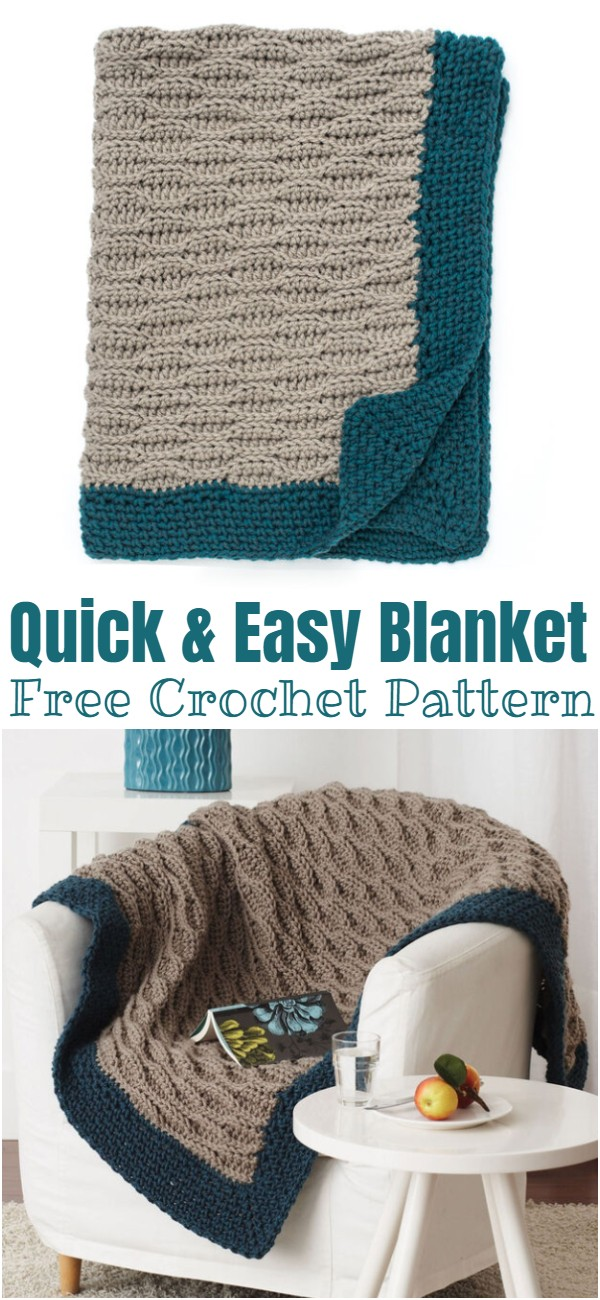 Crochet Quick & Easy Blanket