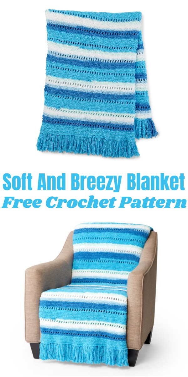 Crochet Soft And Breezy Blanket