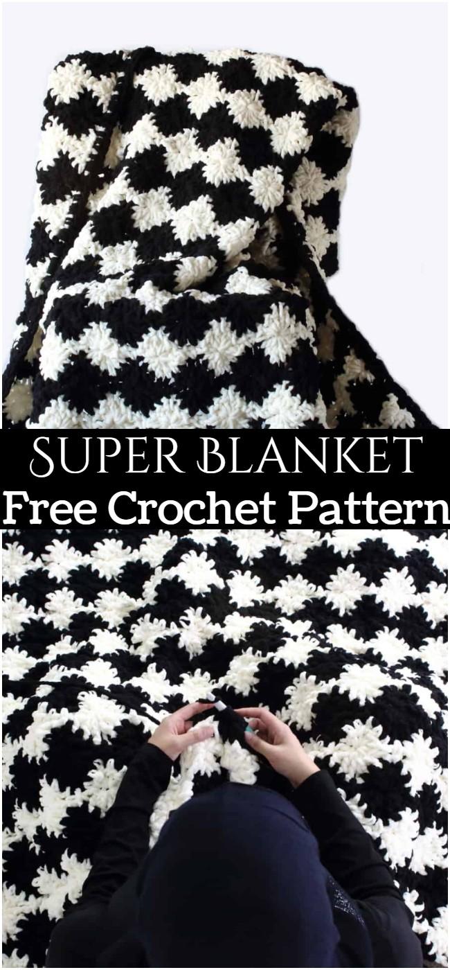 Crochet Super Blanket Pattern