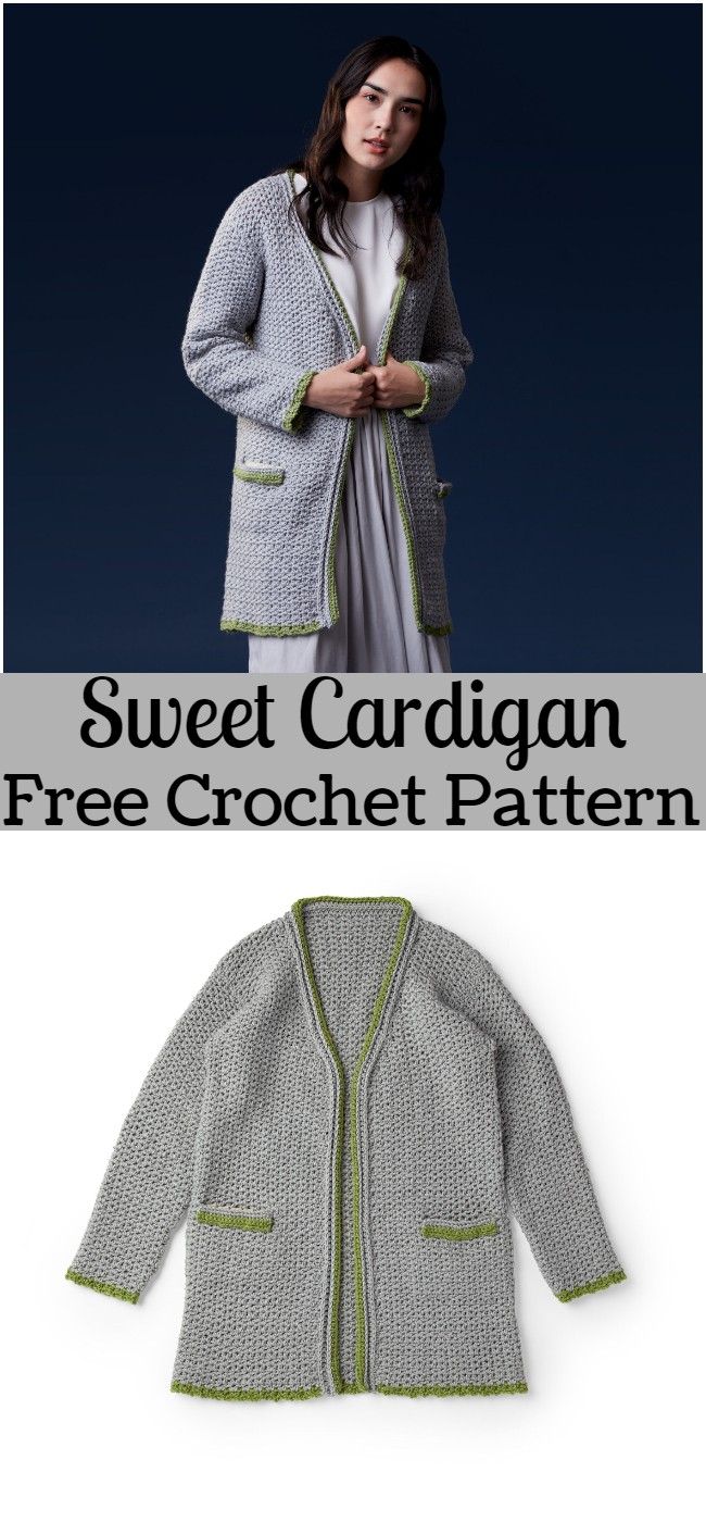 Crochet Sweet Cardigan Pattern