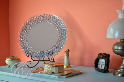 DIY Simple Dresser Mirror Idea