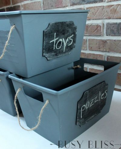 Make A Trendy Storage Solution From Dollar Tree Baskets