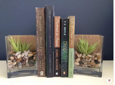 Make a DIY Bookends
