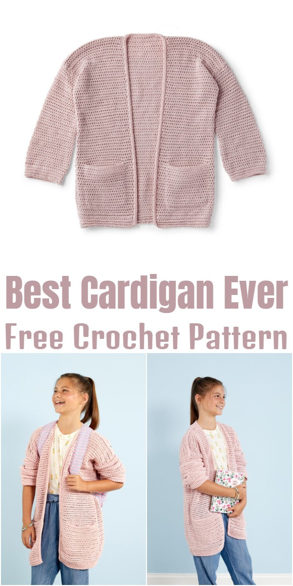 Best Crochet Cardigan Ever