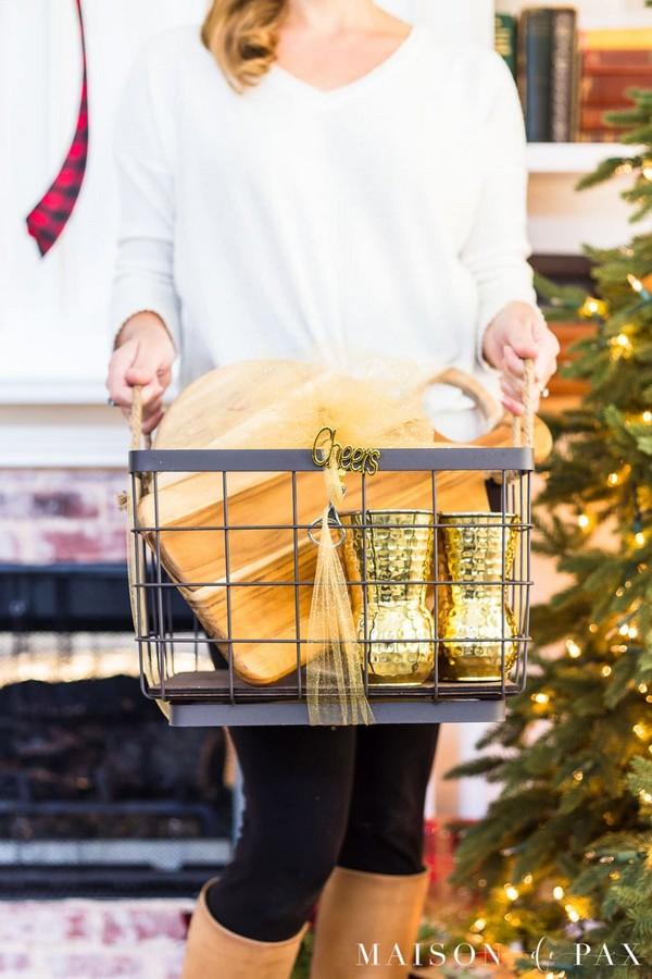 Creative Christmas Gift Basket