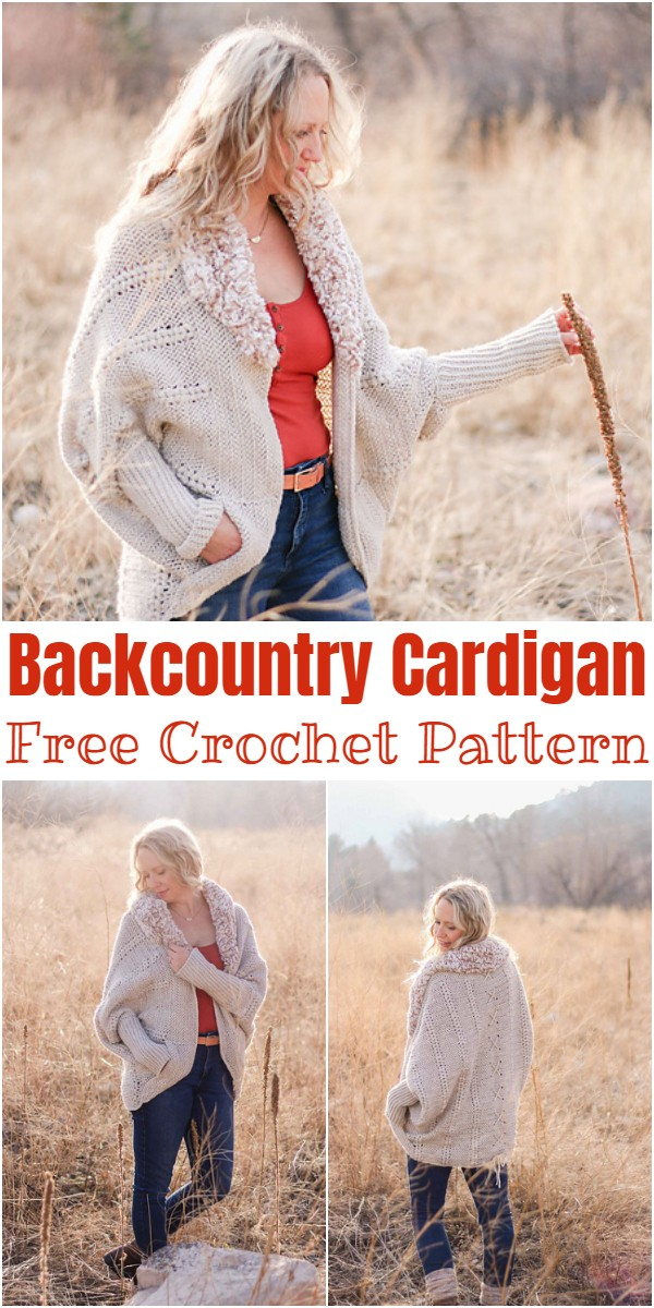 Crochet Backcountry Cardigan