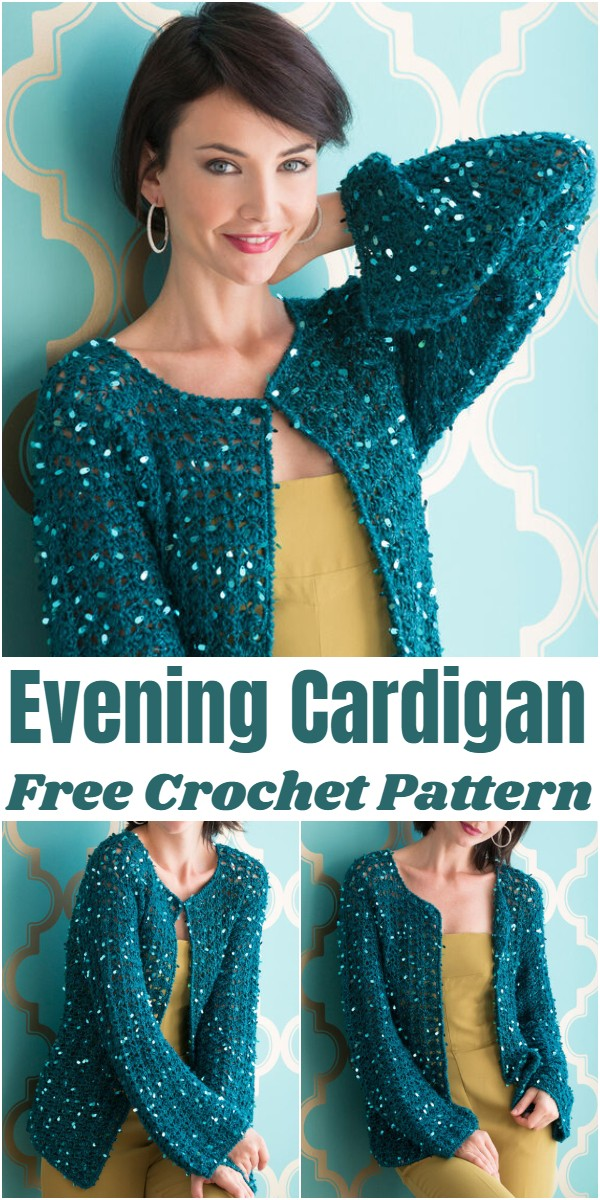Crochet Evening Cardigan