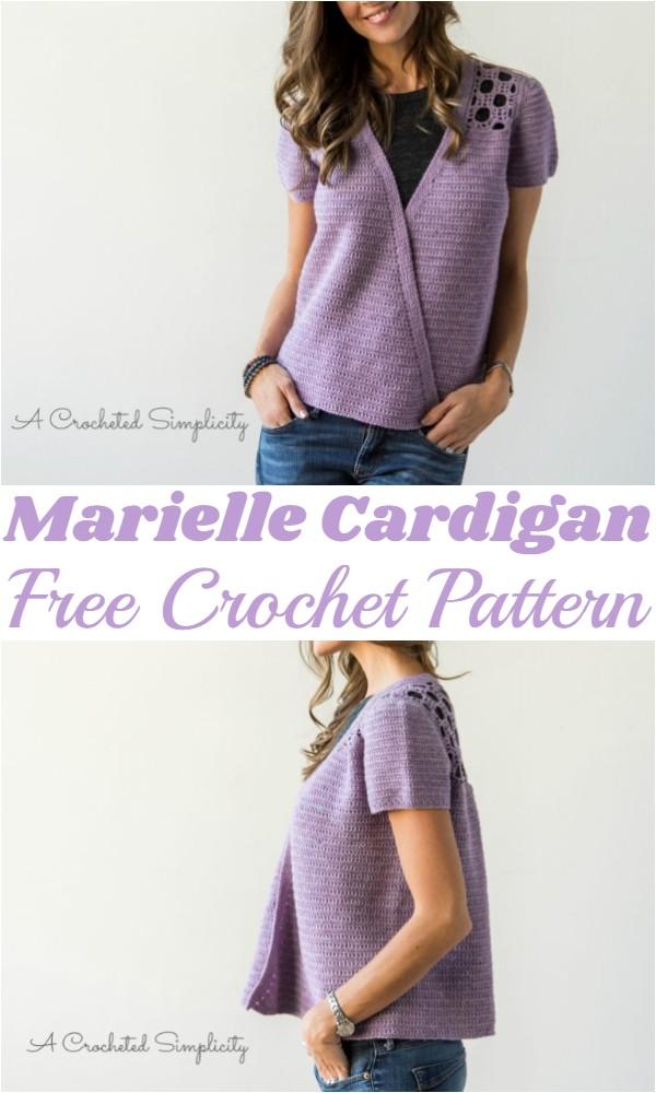 Crochet Marielle Cardigan Pattern