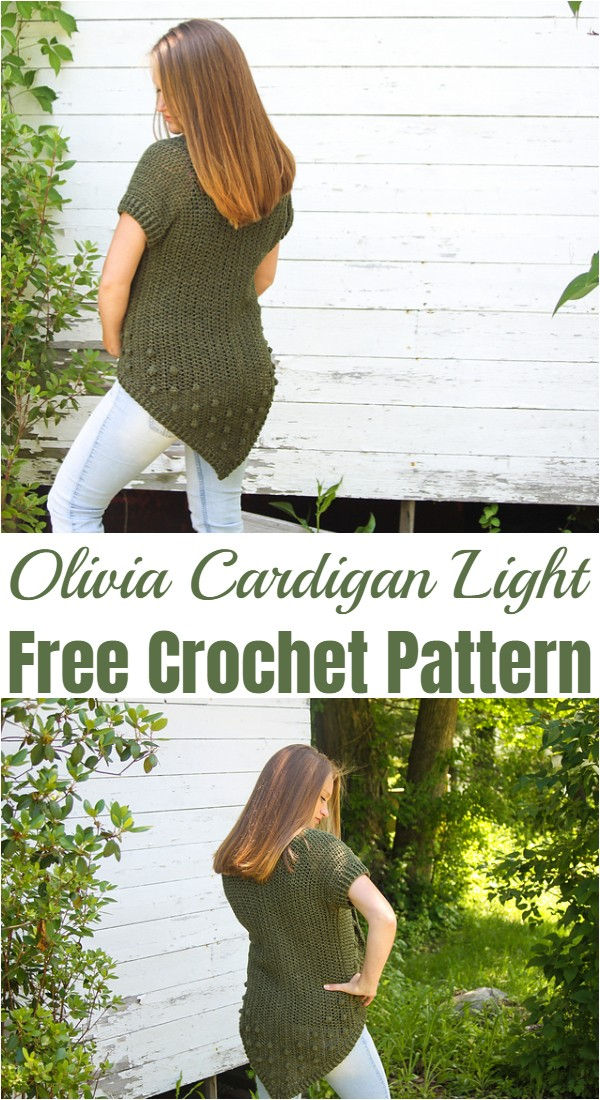 Crochet Olivia Cardigan Light Pattern