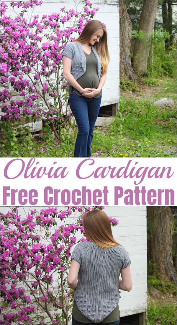 Crochet Olivia Cardigan Pattern