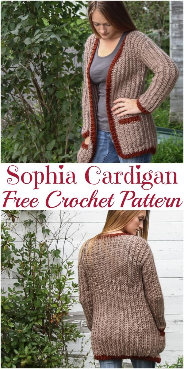 Crochet Sophia Cardigan Pattern