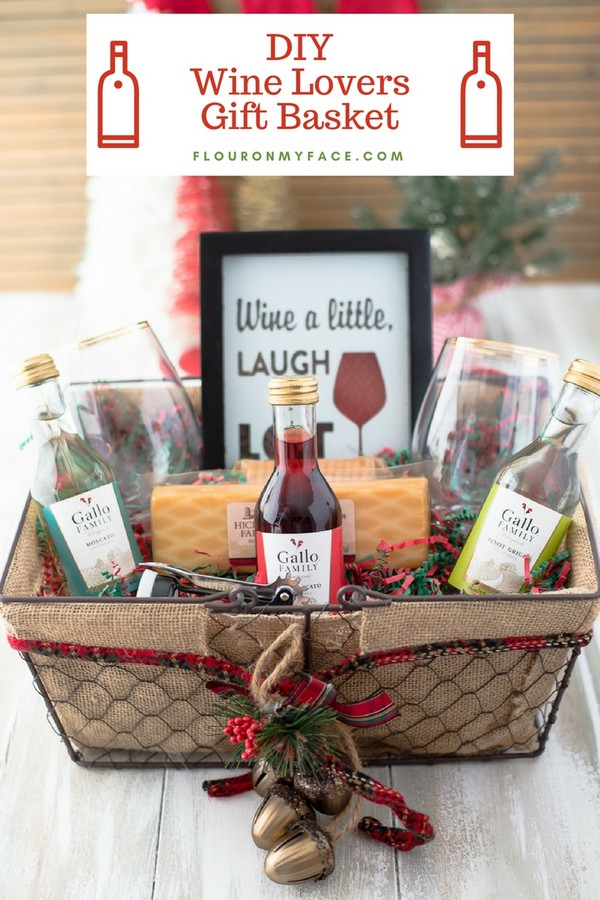 DIY Wine Gift Basket