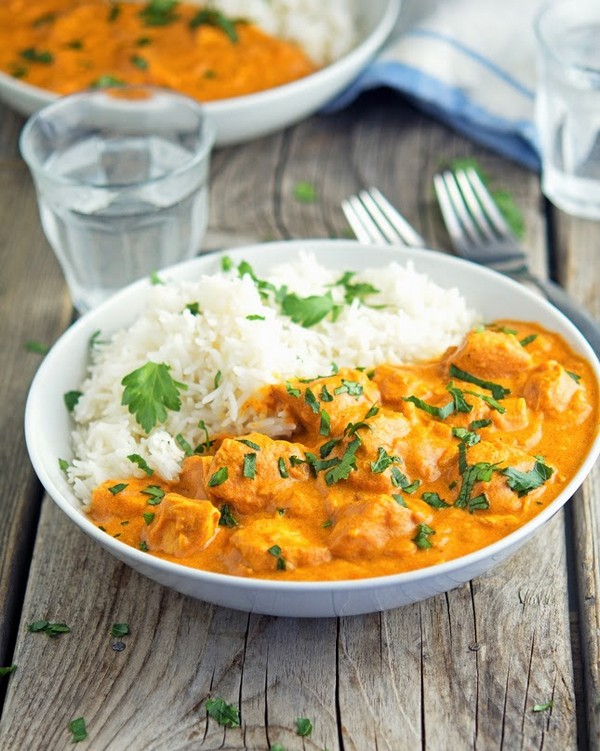 Easy Creamy Crock Pot Chicken Tikka Masala