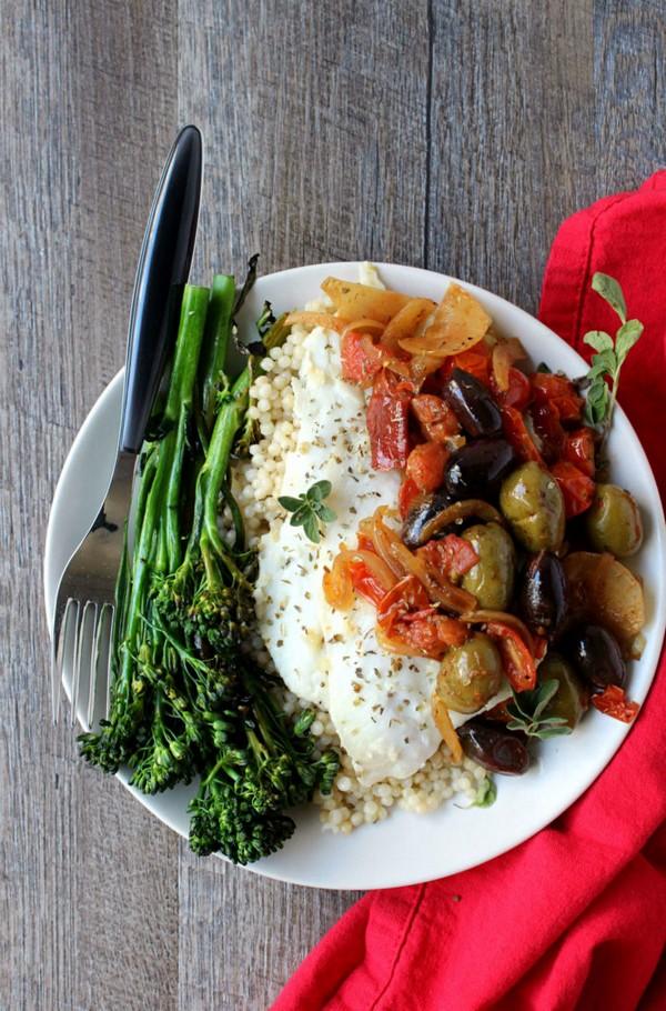 Easy Mediterranean White Fish