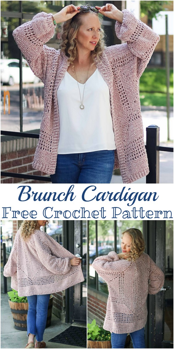 Free Crochet Brunch Cardigan Pattern