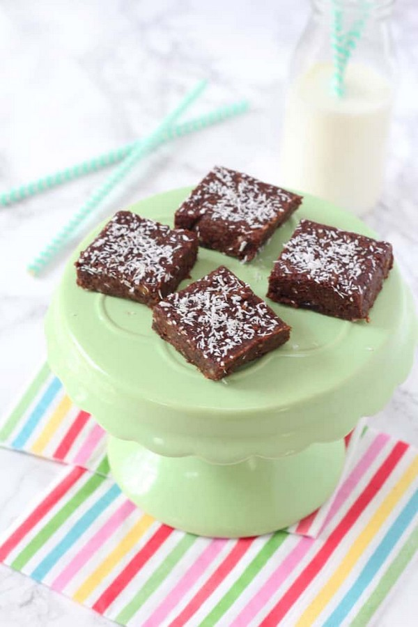 Healthy Chocolate Brownie Bites