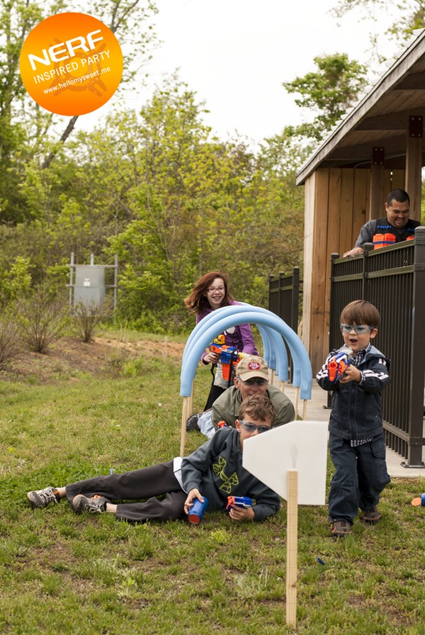 Nerf Party Games Obstacle Course