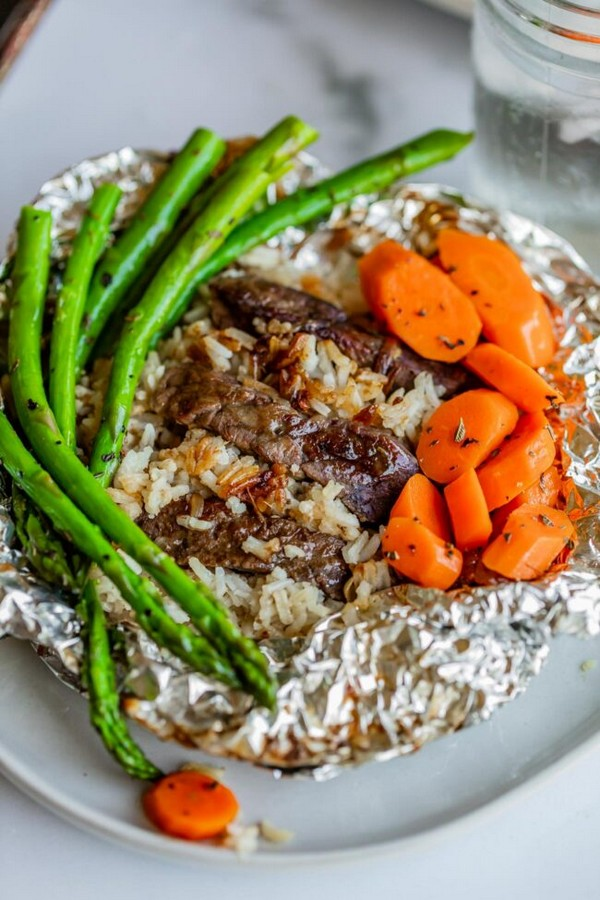 Steak Foil Packets Hobo Dinner
