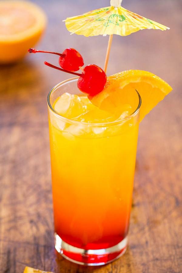 Tequila Sunrise Non-Alcoholic