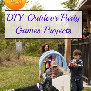 DIY Outdoor Party Games Projects