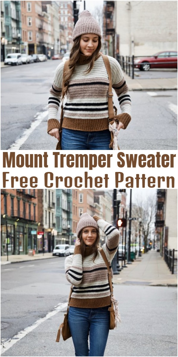 Crochet Mount Tremper Sweater