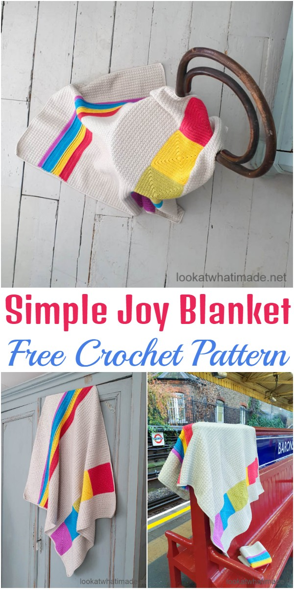 Crochet Simple Joy Blanket