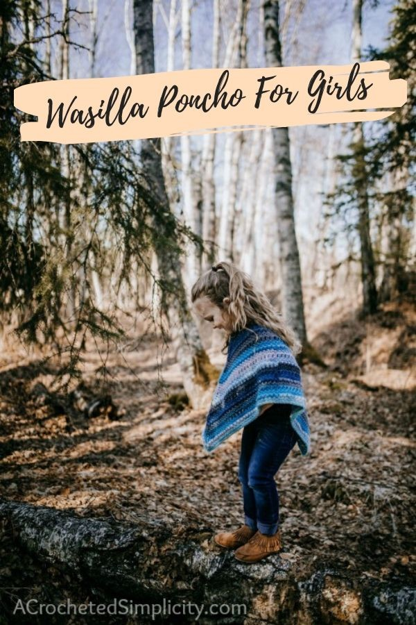 Wasilla Poncho For Girls