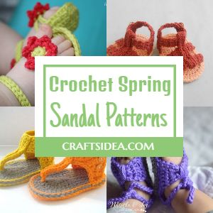 Free Crochet Spring Sandal Patterns